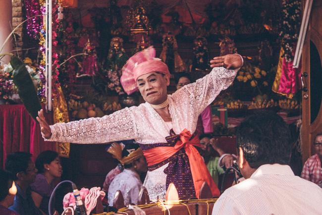 Nat Spirit Celebration in Myanmar