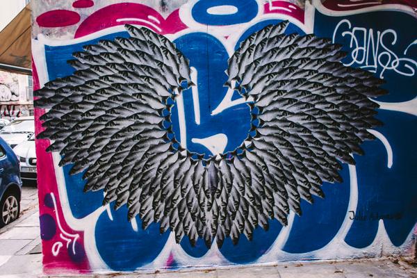 Street art, Exarchia, Athens