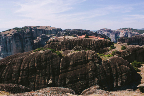 Meteora's rocks