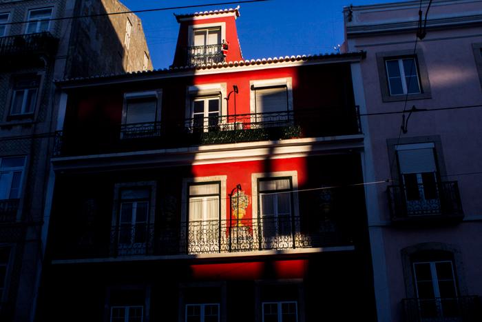 Lights on the city, Lisbon