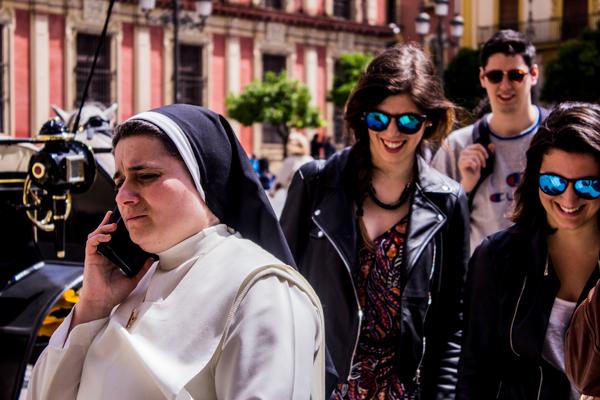 The Worried Nun - Sevilla