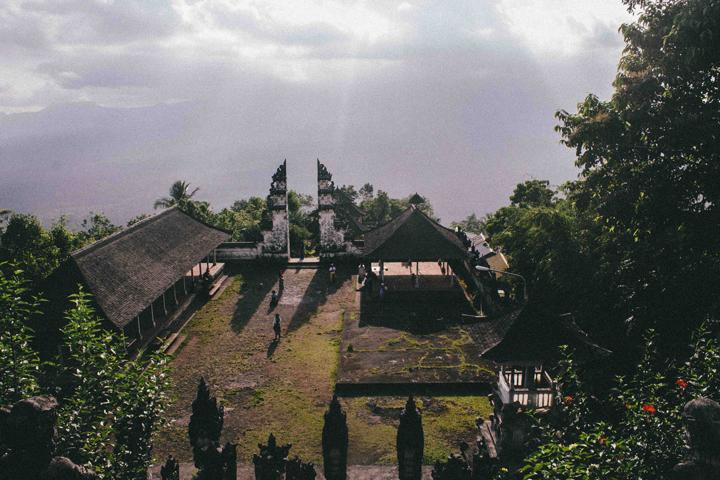 View from Lempuyang Luhur Temple, Bali