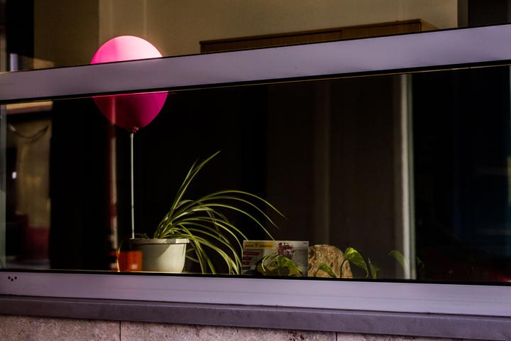 Pink balloon, Katowice