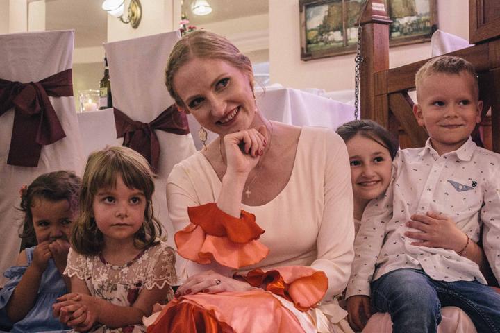 A Polish wedding, The Bride, Wrocław