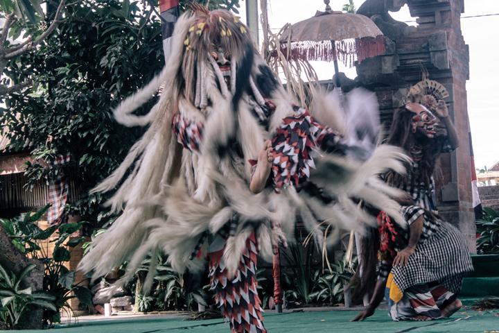 Rangda in Barong dance, Bali