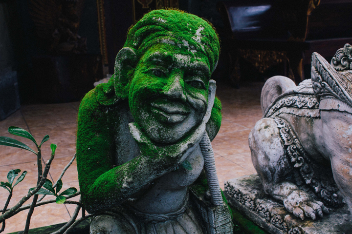 Balinese statue, Bali