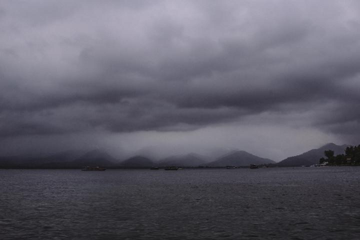 Storm at Gili Air, Lombok