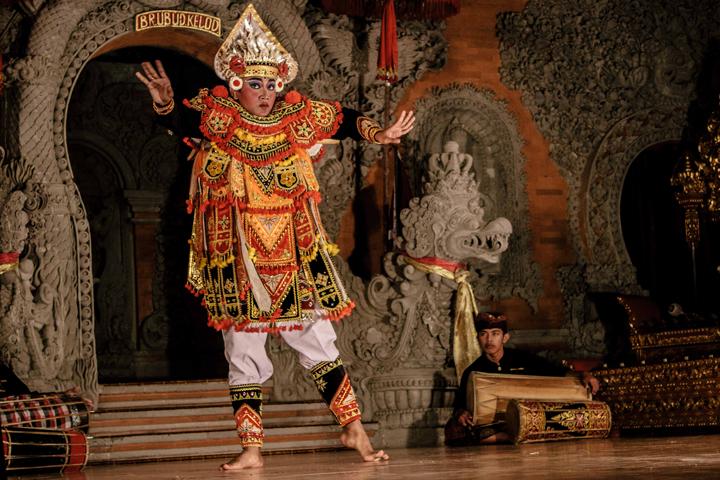 Baris Dance, Bali