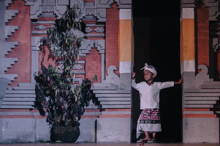 Behind the scenes, Bali