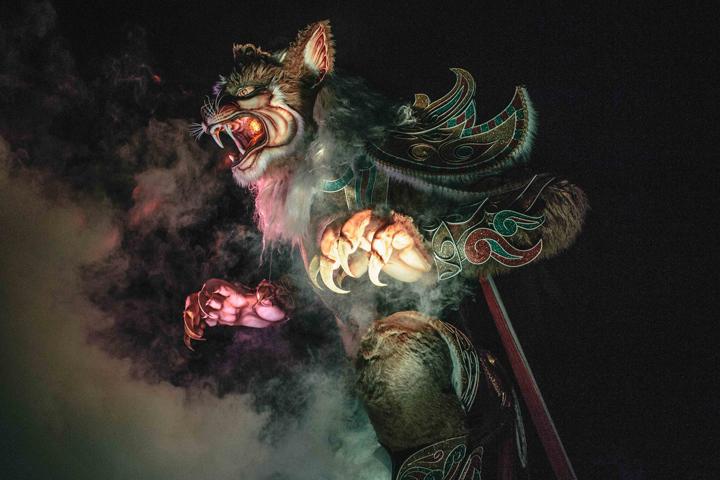 Ogoh-Ogoh Parade in Ubud, Bali