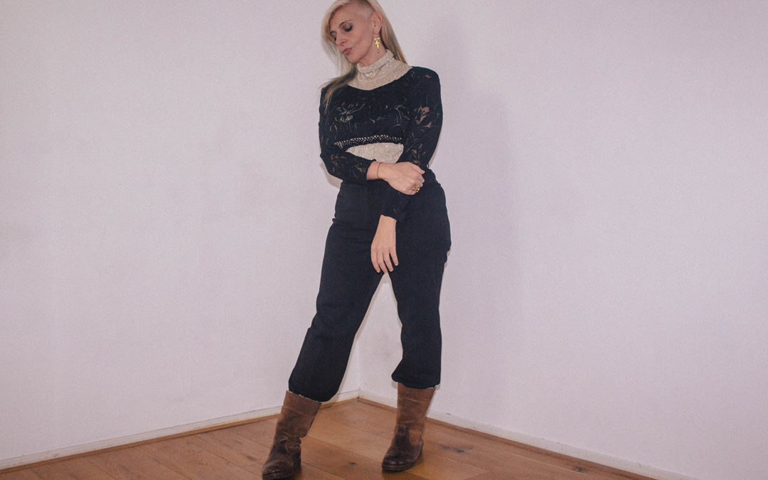 November thrifted outfits