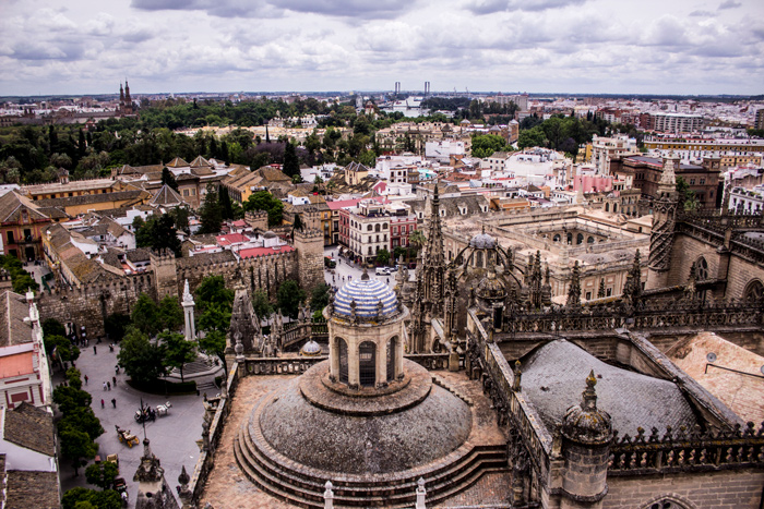 View from the Cathedral, Seville