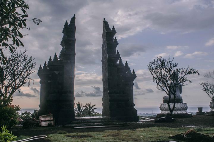 Buddhist temple at Banjar, Bali