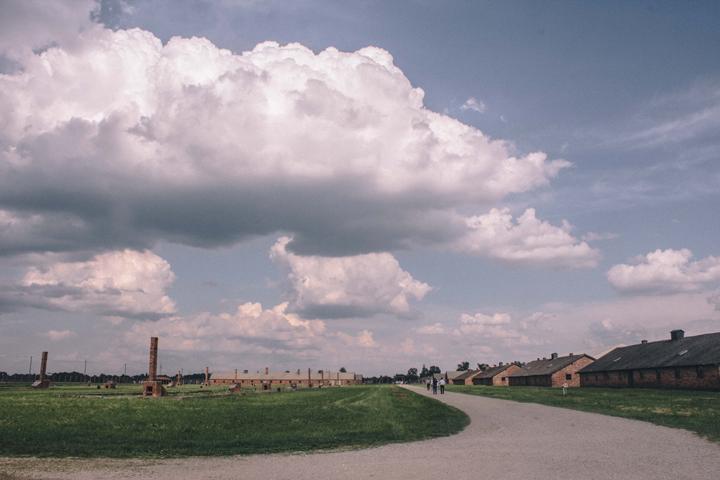 The sky over Birkenau