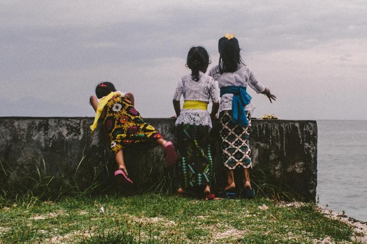 Little girls having fun, Bali