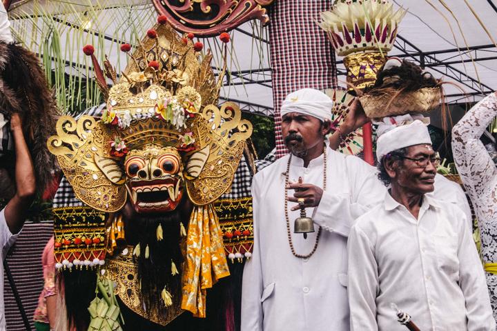 Barong cerimony, Bali